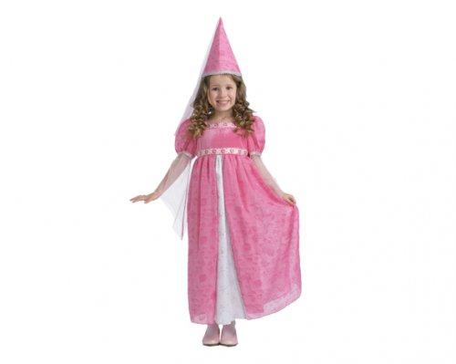 Disfraz de Pequeña Princesa 7-9 Años Económico