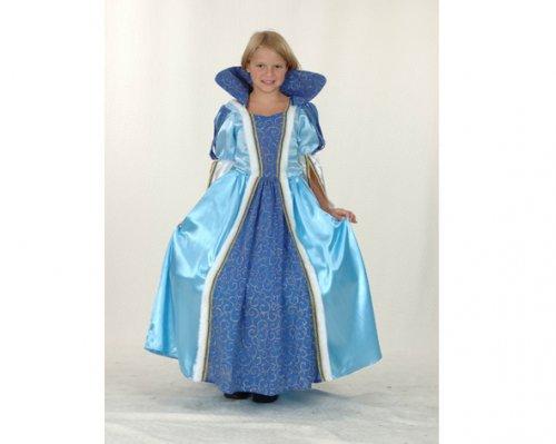 Disfraz de Princesa Azul 7-9 años económico