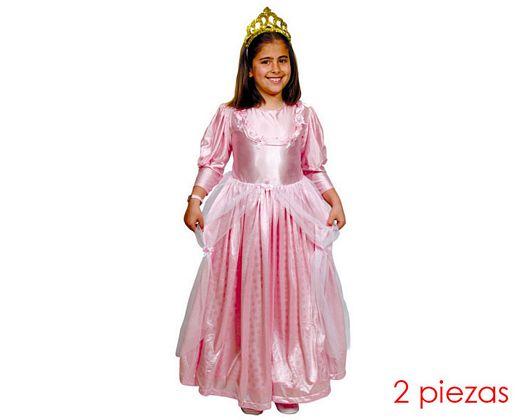 Disfraz de princesa niña talla 2