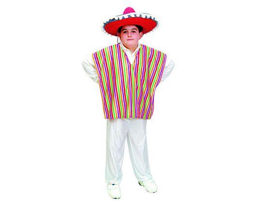 Disfraz de mejicano talla 2