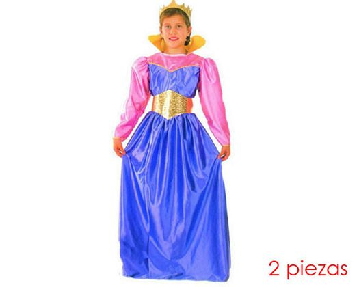 Disfraz de reina niñas 7-9 años