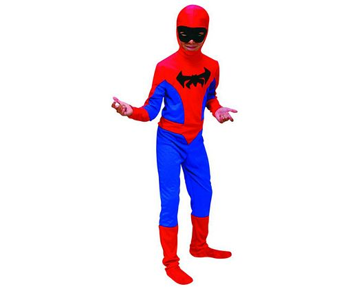 Disfraz de araña niños 5-6 años