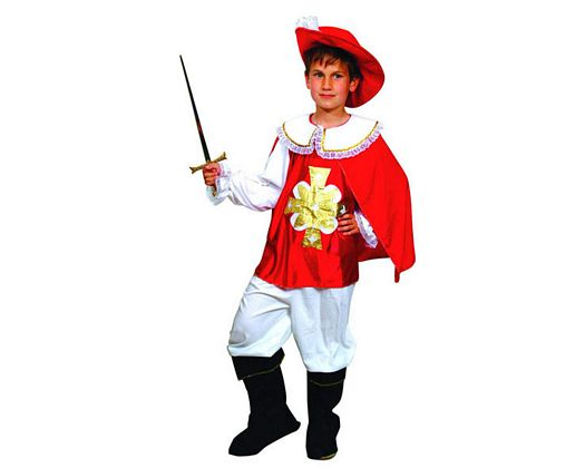 Disfraz de mosquetero niños 3-4 años