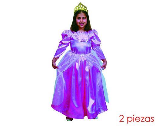 Disfraz de princesa niña Talla 1 (3 – 4 años)