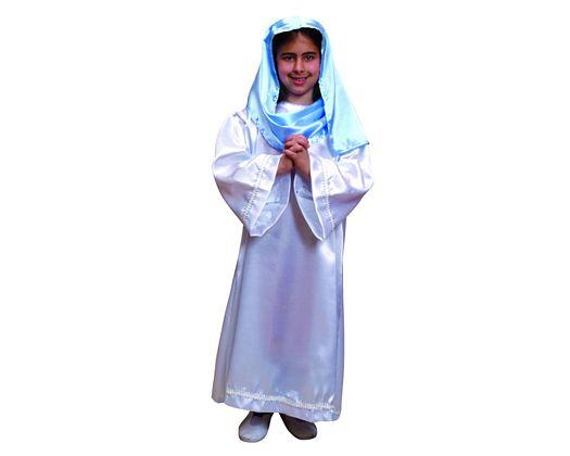 Disfraz de virgen 2 st Talla 2 (5 – 6 años)