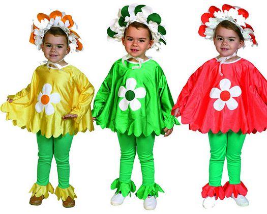 Disfraz de flor primaveral 3 surt Talla 1 (3 – 4 años)