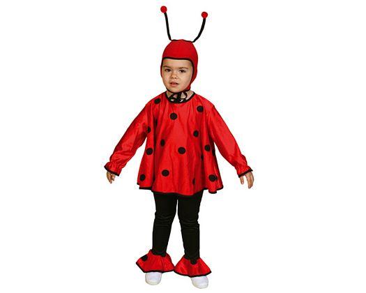 Disfraz de mariquita infantil Talla 1 (3 – 4 años)