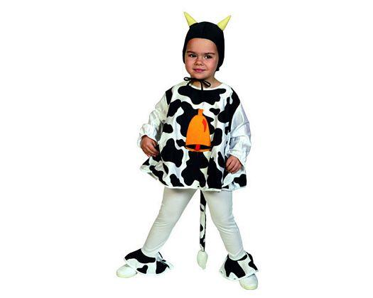 Disfraz de vaca infantil Talla 1 (3 – 4 años)