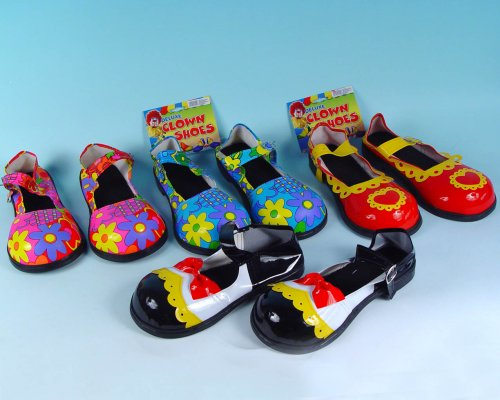 Zapatones Payaso 30 cm