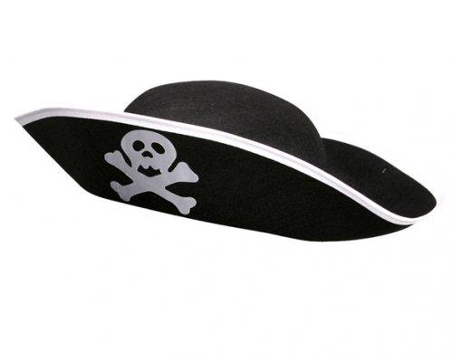 Sombrero Pirata Adulto Fieltro