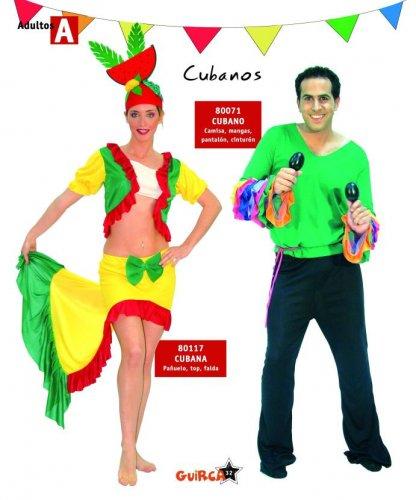 Disfraz de Cubano Adulto