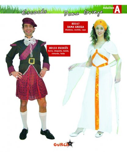 Disfraz de Escocés Adulto