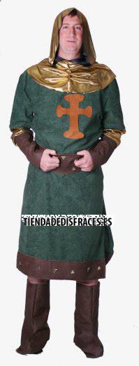 Disfraz de Cid medieval adulto