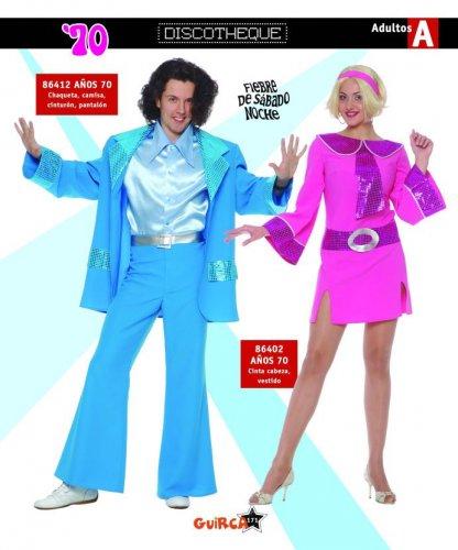 Disfraz de Años 70 Mujer Adulto