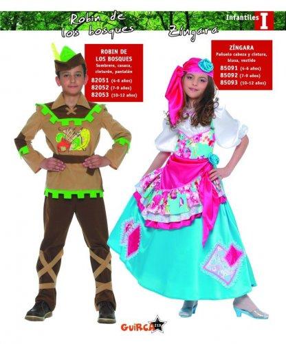 Disfraz de Zíngara 4-6 Años