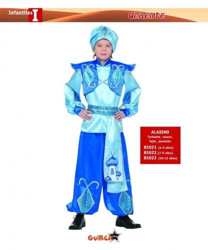 Disfraz de Aladino 4-6 Años