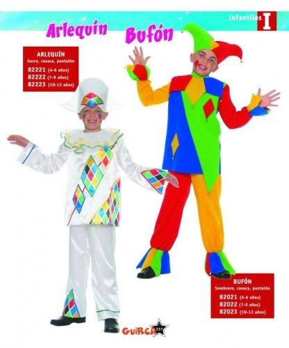 Disfraz de Bufón 7-10 Años