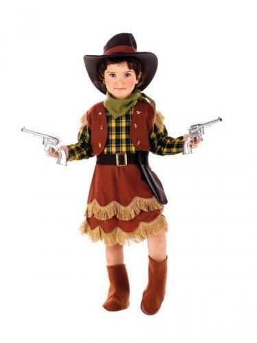 Disfraz de Vaquera Cowgirl Deluxe Talla 3 años