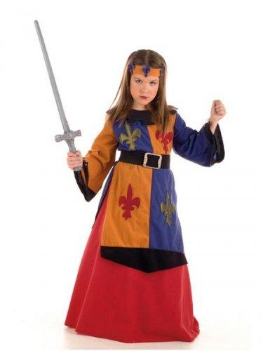 Disfraz de Guerrera medieval Lys Deluxe