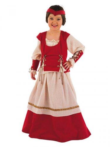 Disfraz de Medieval Scarlet Deluxe