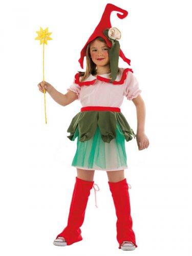 Disfraz de Elfa Amapola Deluxe