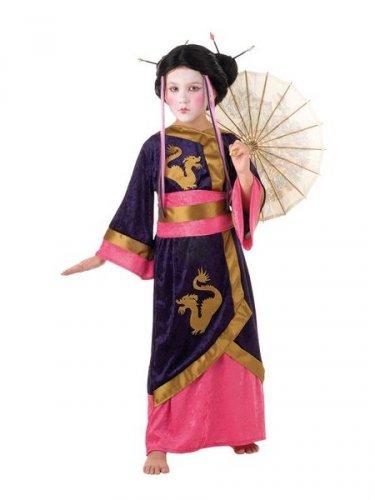 Disfraz de Geisha kyoto 9 a 11 años