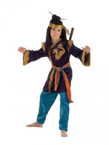 Disfraz de Samurai Deluxe