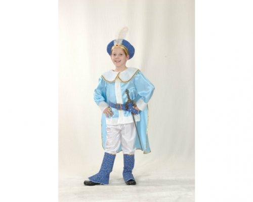 Disfraz de Príncipe Azul 4-6 Años Económico