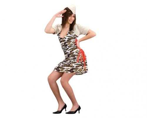 Disfraz de Camuflaje Super Sexy Adulto Económico
