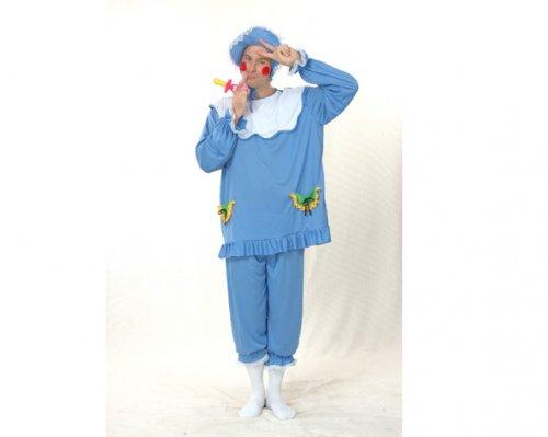 Disfraz de Bebé Azul Adulto Económico