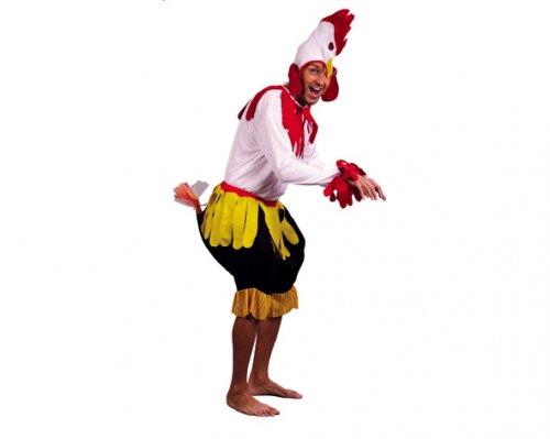 Disfraz de Gallo hombre Económico
