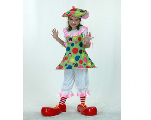 Disfraz de Payaso Aro Niña 4-6 Años Económico
