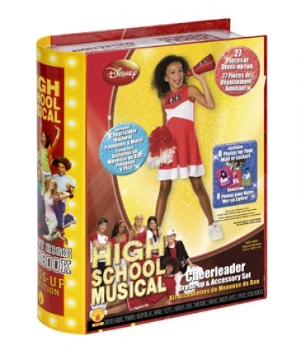 Cheerleader Yearbook (HSM2) (25 Acc) T-5-7 Años
