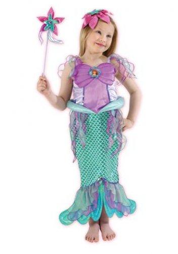 Disfraz de Sirenita T-5/6 Años