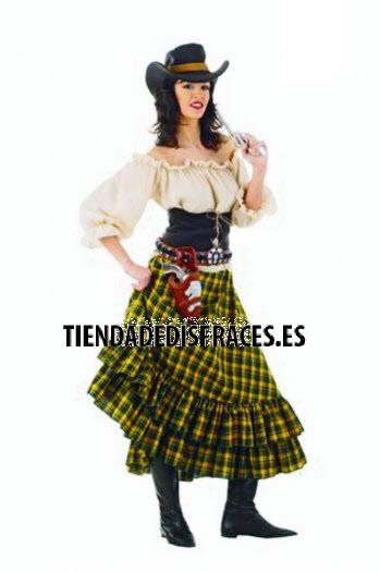 Disfraz de Vaquera Bandida deluxe