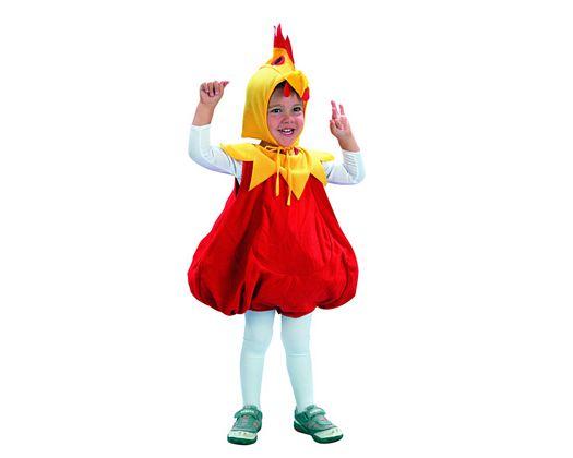 Disfraz de infantil pollito amarillo 3-4 años