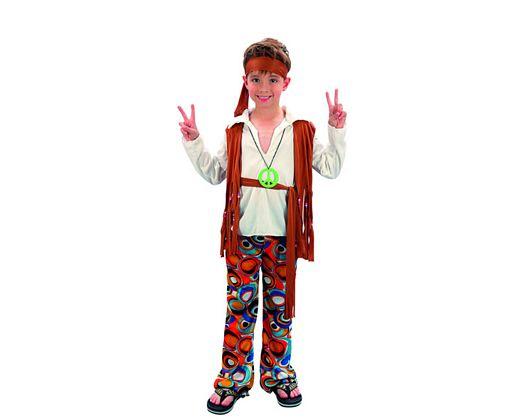 Disfraz de niño hippie 10-12 años