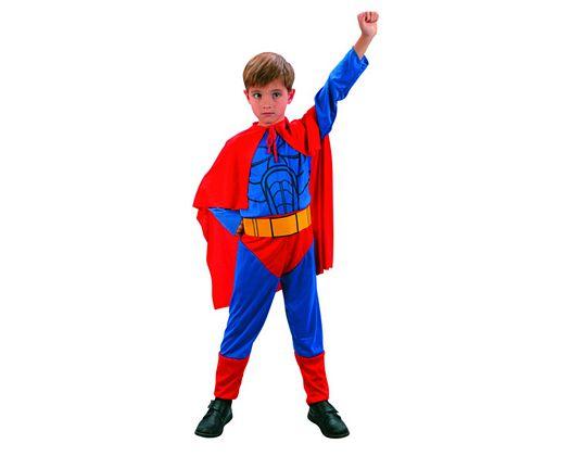 Disfraz de super heroe niÑos 3-4 aÑos