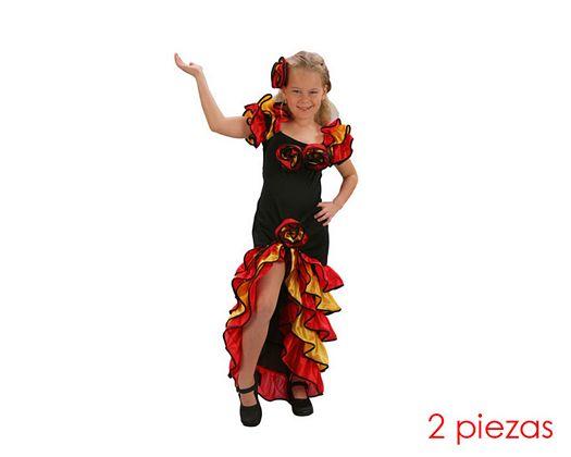 Disfraz de bailarina de rumba niñas 10-12