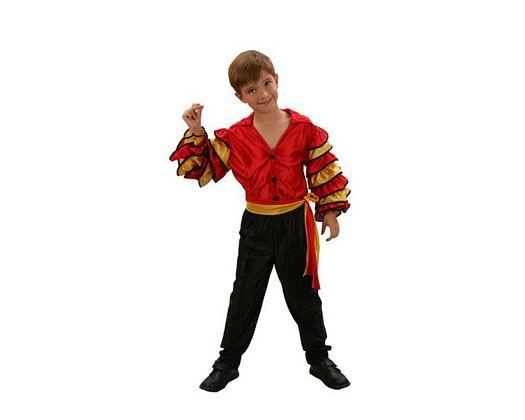 Disfraz de bailarin de rumba niños 5-6