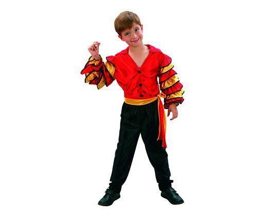 Disfraz de bailarin de rumba niÑos 7-9