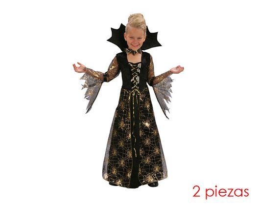 Disfraz de dama aracnida telarañas 7-9