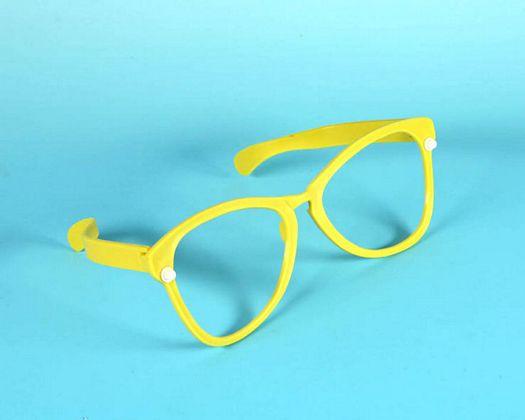 Accesorio gafas gigant sur rojo ama