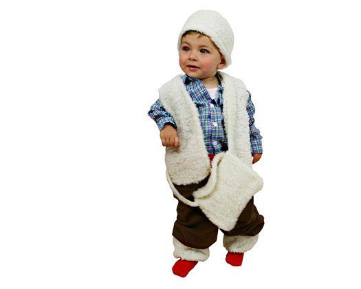 Disfraz de pastorcillo niños 1-2 años