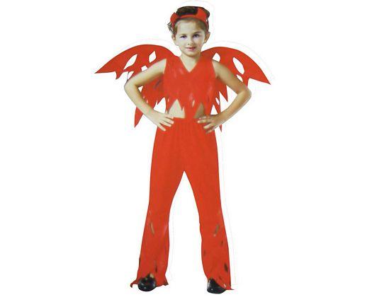 Disfraz de niña demonia alas Talla 4 (10 – 12 años)