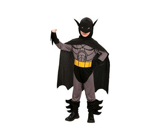 Disfraz de hombre murcielago niños 5-6 años