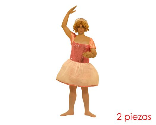 Disfraz de bailarina hombre Talla 2 (M-L)