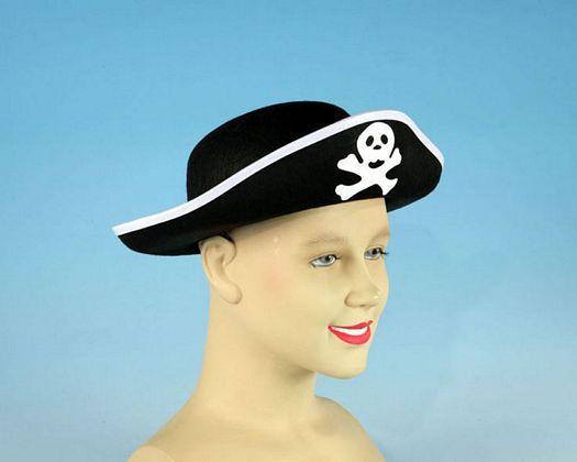 Sombrero pirata calavera adulto