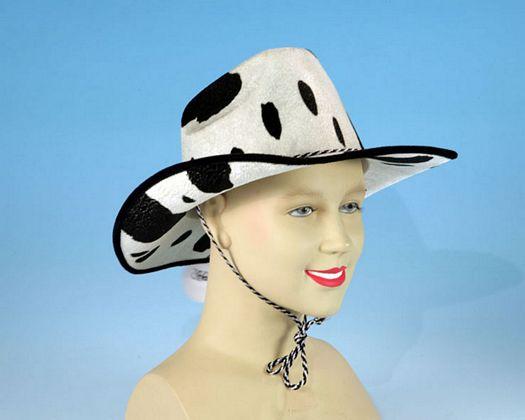 Acc carn sombrero cowboy blanco negro