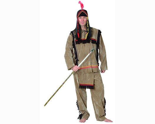Disfraz de indio adulto